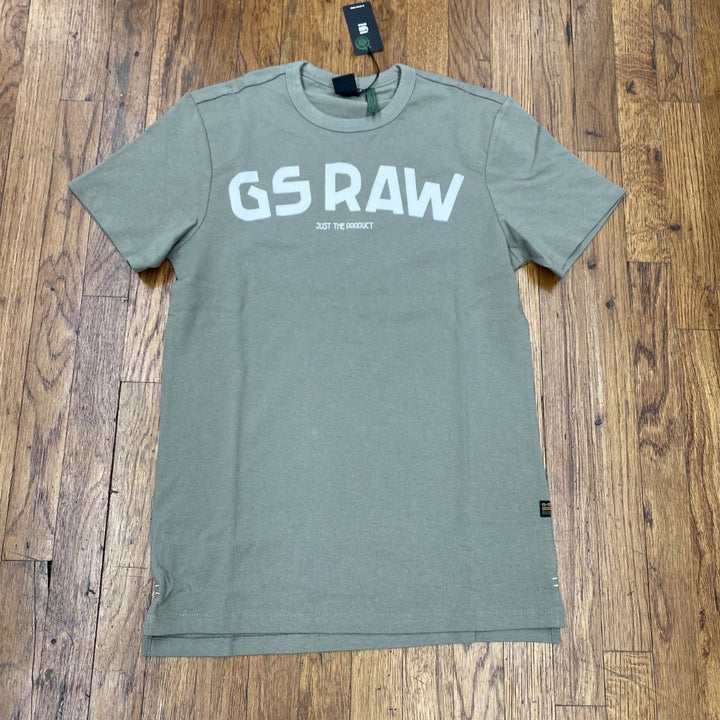 G-Star GSRAW GR R T SLS GRAPHIC TEE Men's - SHAMROCK - Moesports