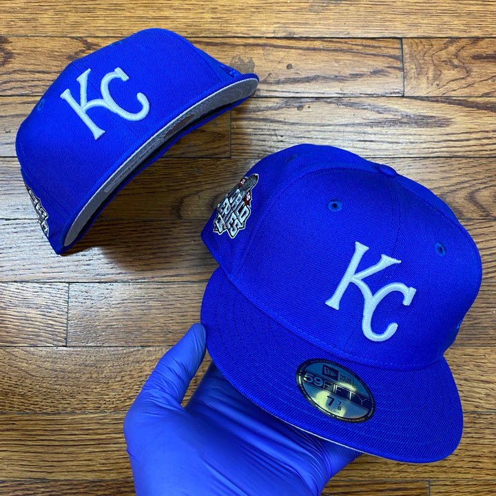 New Era Cap 5950 KANROY ROYAL 2015 WORLD SERIES Men's - BRIGHT ROYAL - Moesports
