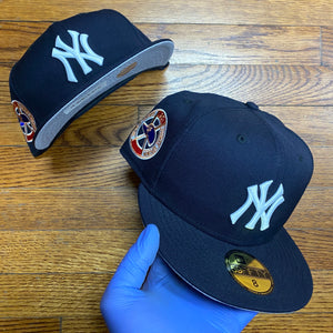 New Era MLB WORLD SERIES 1961 RIGHT SIDE PATCH Men's - NAVY/WHITE