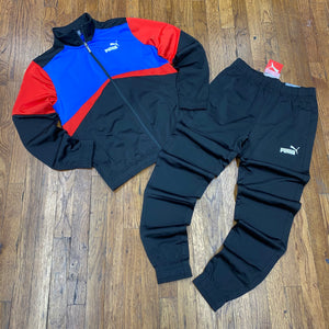 Puma CB Retro Tracksuit -Black/Red - Moesports