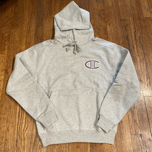 Champion NEW SUPER FLEECE PULLOVER HOOD Men's-GREY