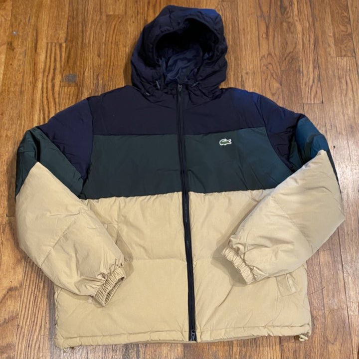 LACOSTE Jacket -GREEN/BLUE/BEIGE