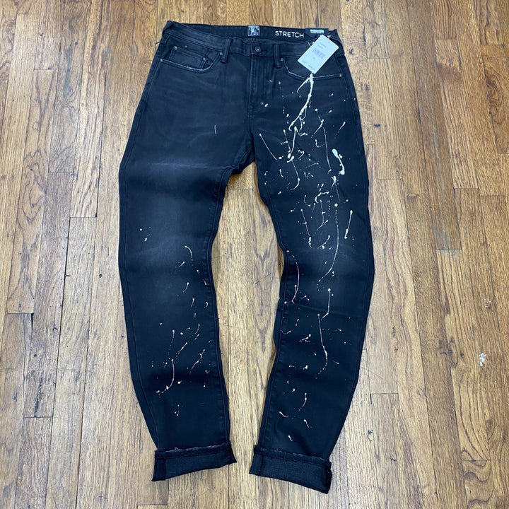 PRPS Bruised, Never Broken JEANS PANTS Men's - BLK/BLACK - Moesports