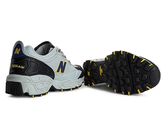 New Balance LIFESTYLE MODE DE VIE Men's - BLK/GRY/YEL/NVY - Moesports