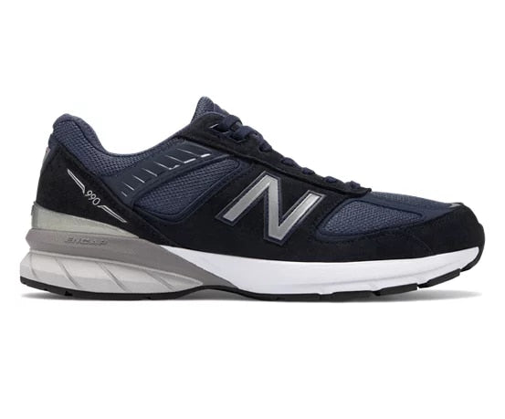 utterly stylish closer at fast delivery New Balance 990's Classics Running Course Men's - NVY/DRK GRAY/LITE GRAY