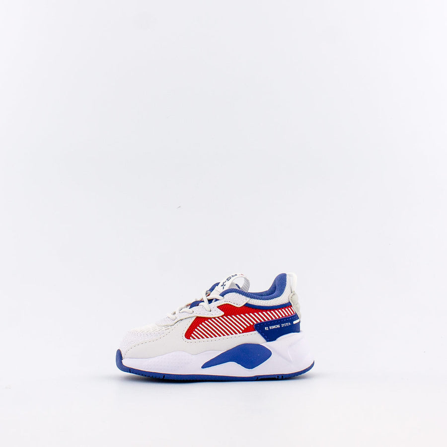 Puma RS-X HARD DRIVE AC Infant - PUMA WHITE-HIGH RISK RED - Moesports