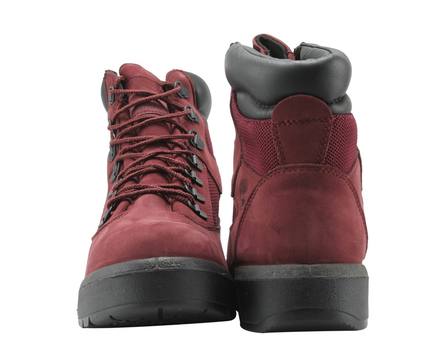 Timberland 6IN F/L FLD BT Junior's - BURGUNDY