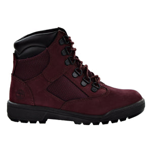 Timberland 6 IN F/L FLD BT Youth's - BURGUNDY