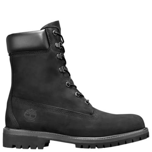 Timberland PREMIUM 8 IN WATERPROOF BOOT Men's - BLACK NUBUCK