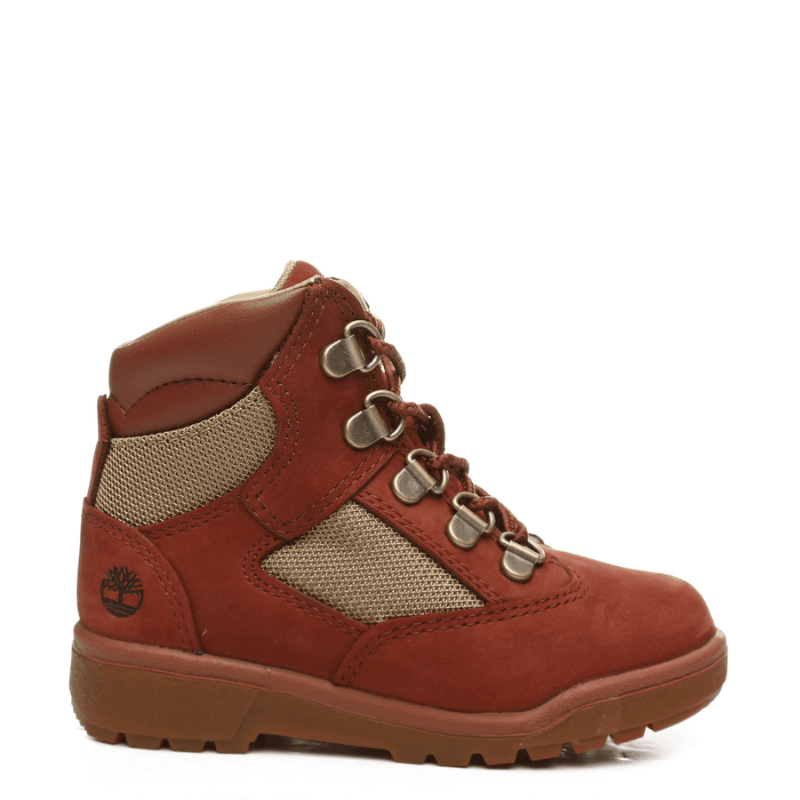 Timberland 6IN L/F BT Toddler's - RUST NUBUCK - Moesports