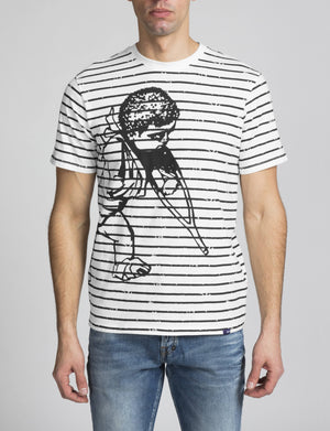 PRPS Bruised, Never Broken TEE's Men's - OFF WHITE