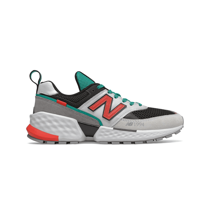 New Balance 1994 574 Classics Men's - WHITE/BLACK/TEAL/RED - Moesports