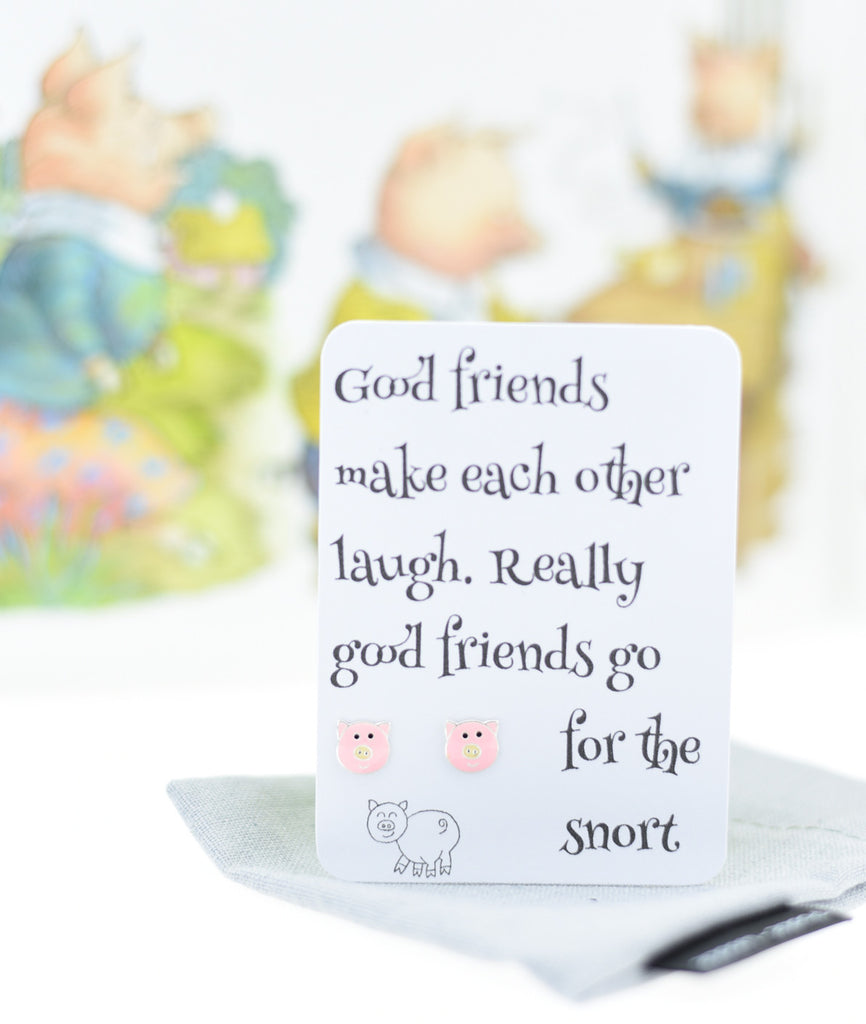 Good friend make each other laugh - Pookie - Wookie