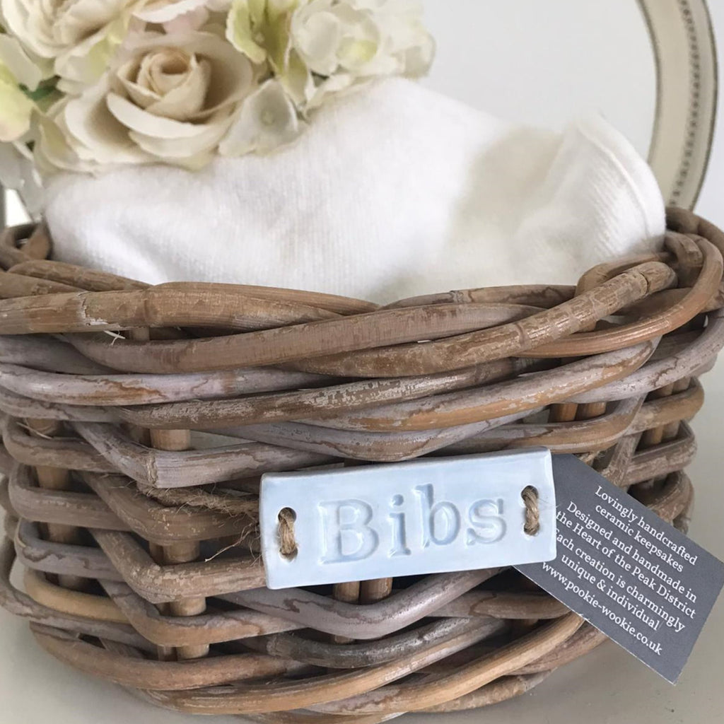 Nursery Basket Labels