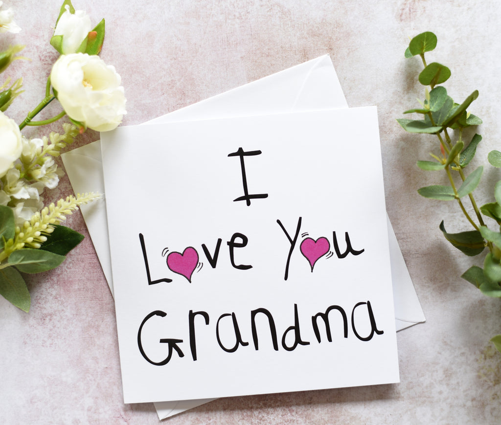 I Love you Grandma - Pookie - Wookie