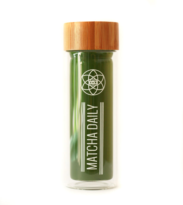 Matcha Daily Glass Bottle