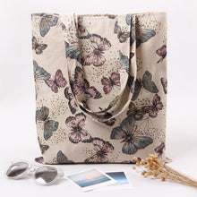 EXCELSIOR Butterfly Print Casual Tote Bag