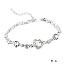 ZHEFANKU Crystal Heart Fashion Bracelet