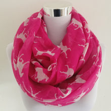KALLOVE Horse Print Infinity Scarf