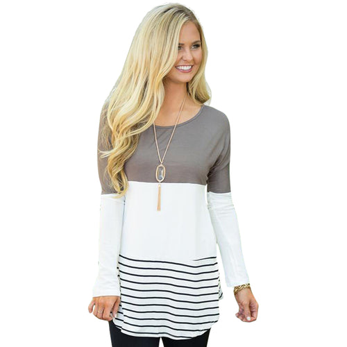 HERLOVA Casual Tunic Pullover Top
