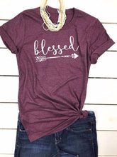 VESSOS Blessed Pullover T-Shirt