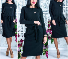 SMILEFISH Cozy Dress with Belt