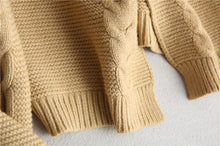 FINCATI Cable Knit Cardigan