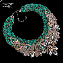 DVACAMAN Statement Choker Necklace