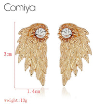 COMIYA Wings Stud Earrings
