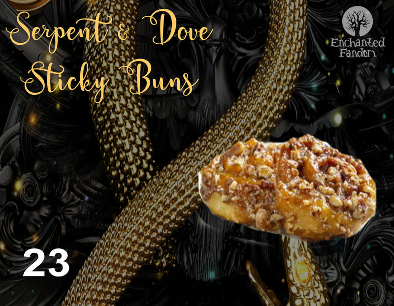 Serpent and Dove Sticky Buns
