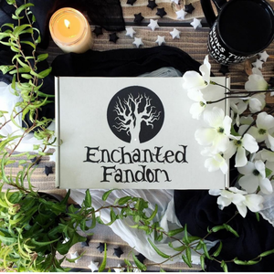 a monthly fandom box. Box is filled with hand made items based off your favorite fandoms