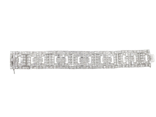 Antique Chaumet Art Deco Diamond Bracelet