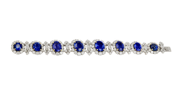 Bulgari Sapphire and Diamond Bracelet