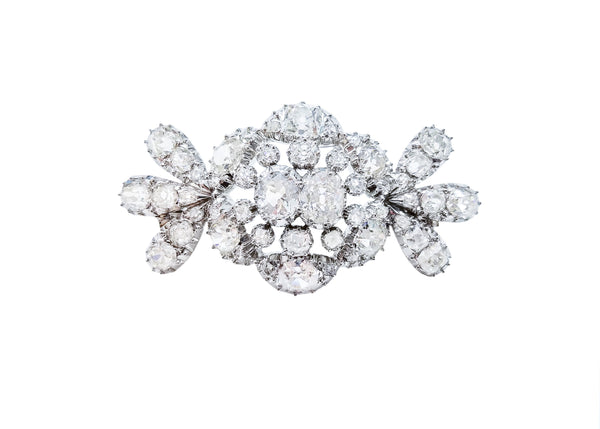 cartier diamond brooch
