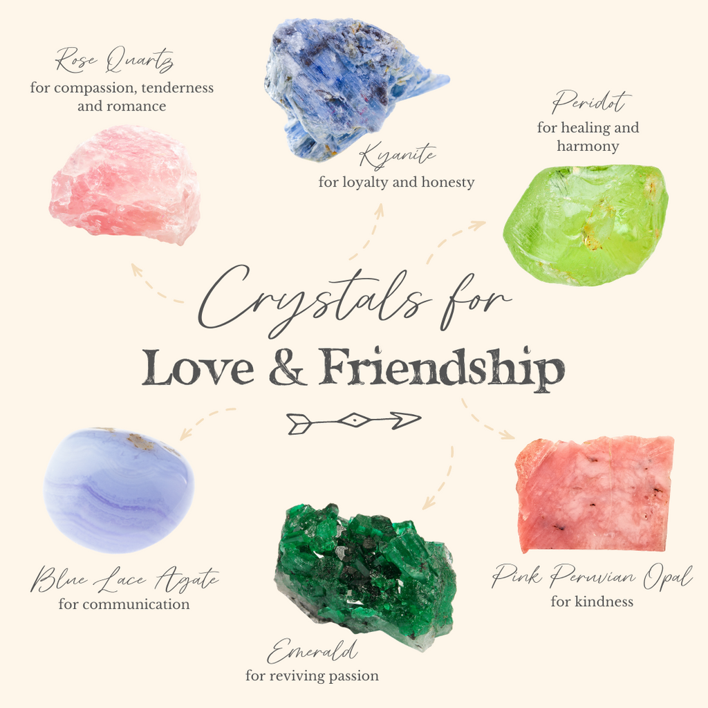 6 Best Crystals for Love and Friendship