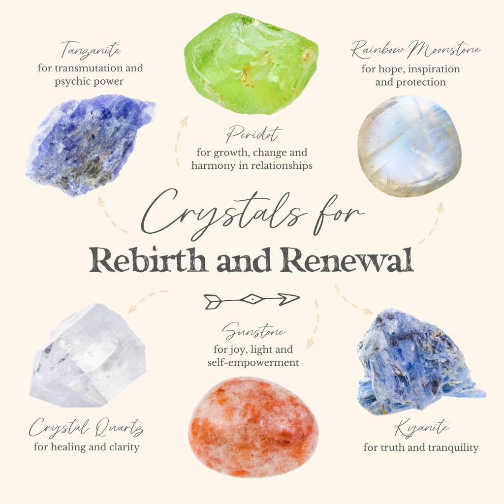 Welcome a New You with these Crystals for Rebirth and Renewal