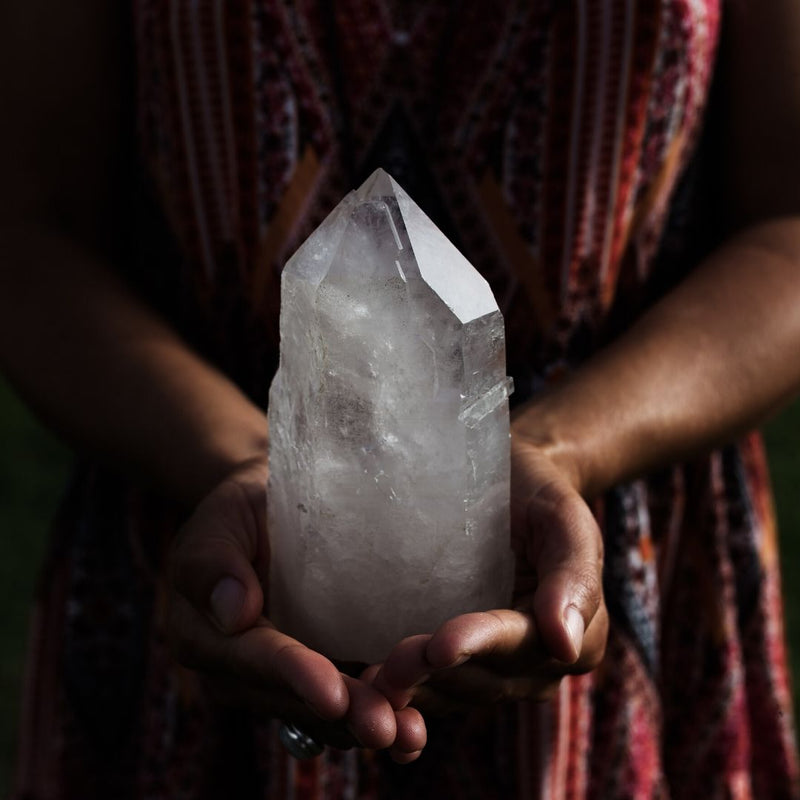 3 Ways to create more positive rituals with crystals in November
