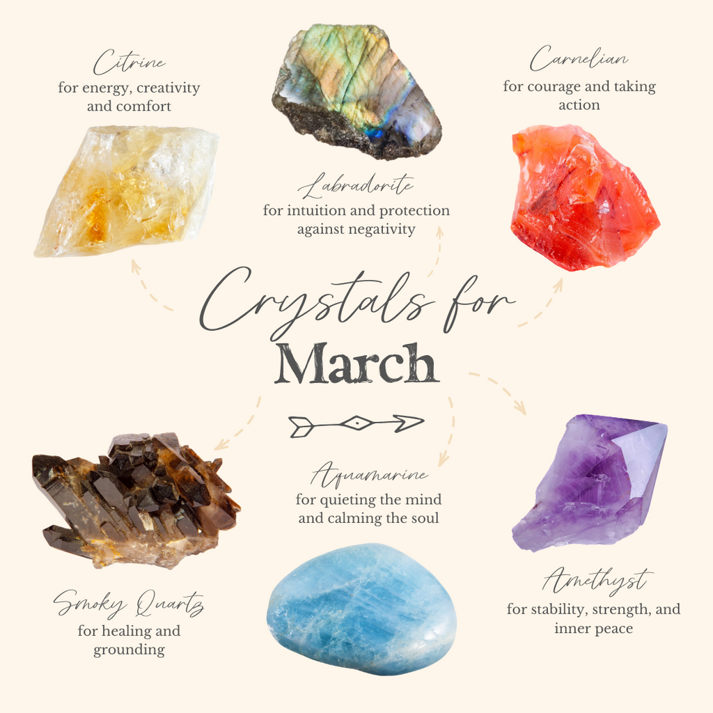 6 Best Crystals for March