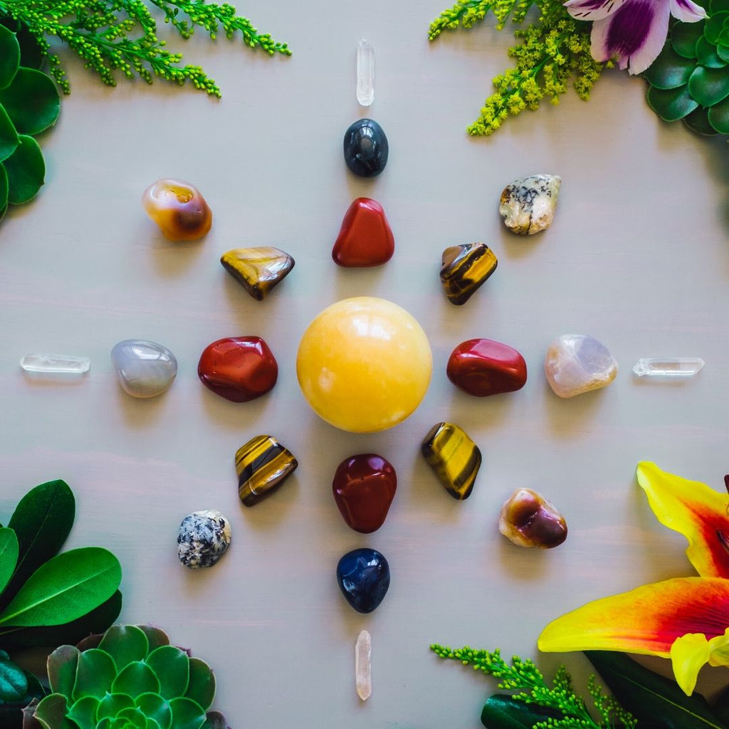 How to Create and Manifest with a Crystal Grid