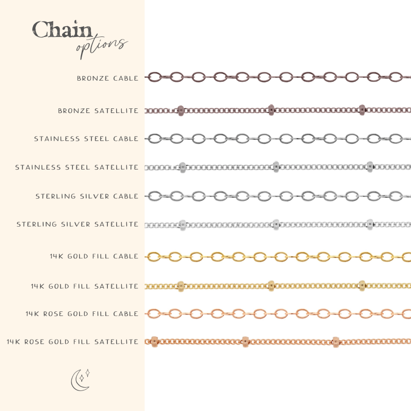 Chain style options