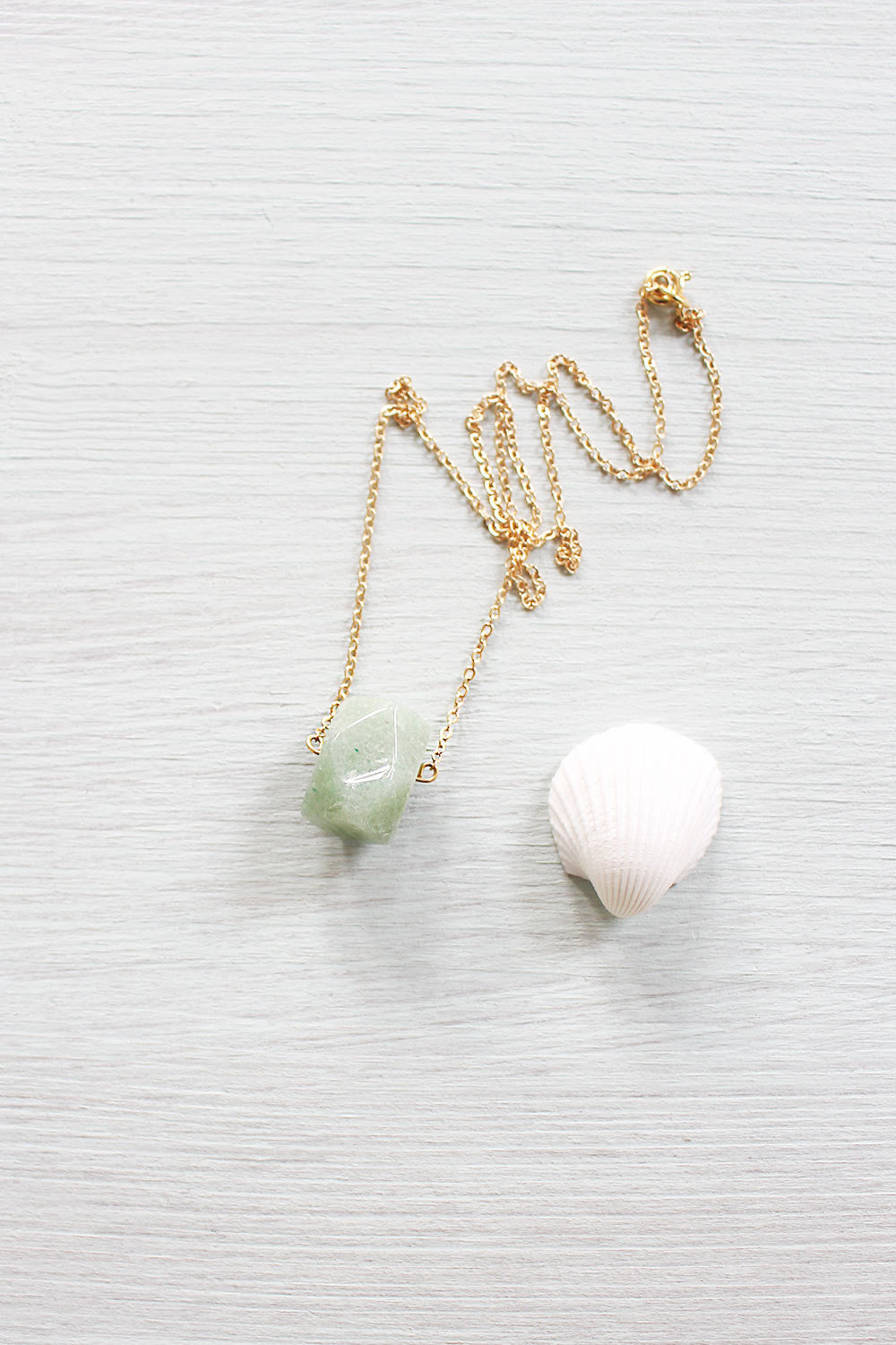 Small Aventurine Nugget Necklace