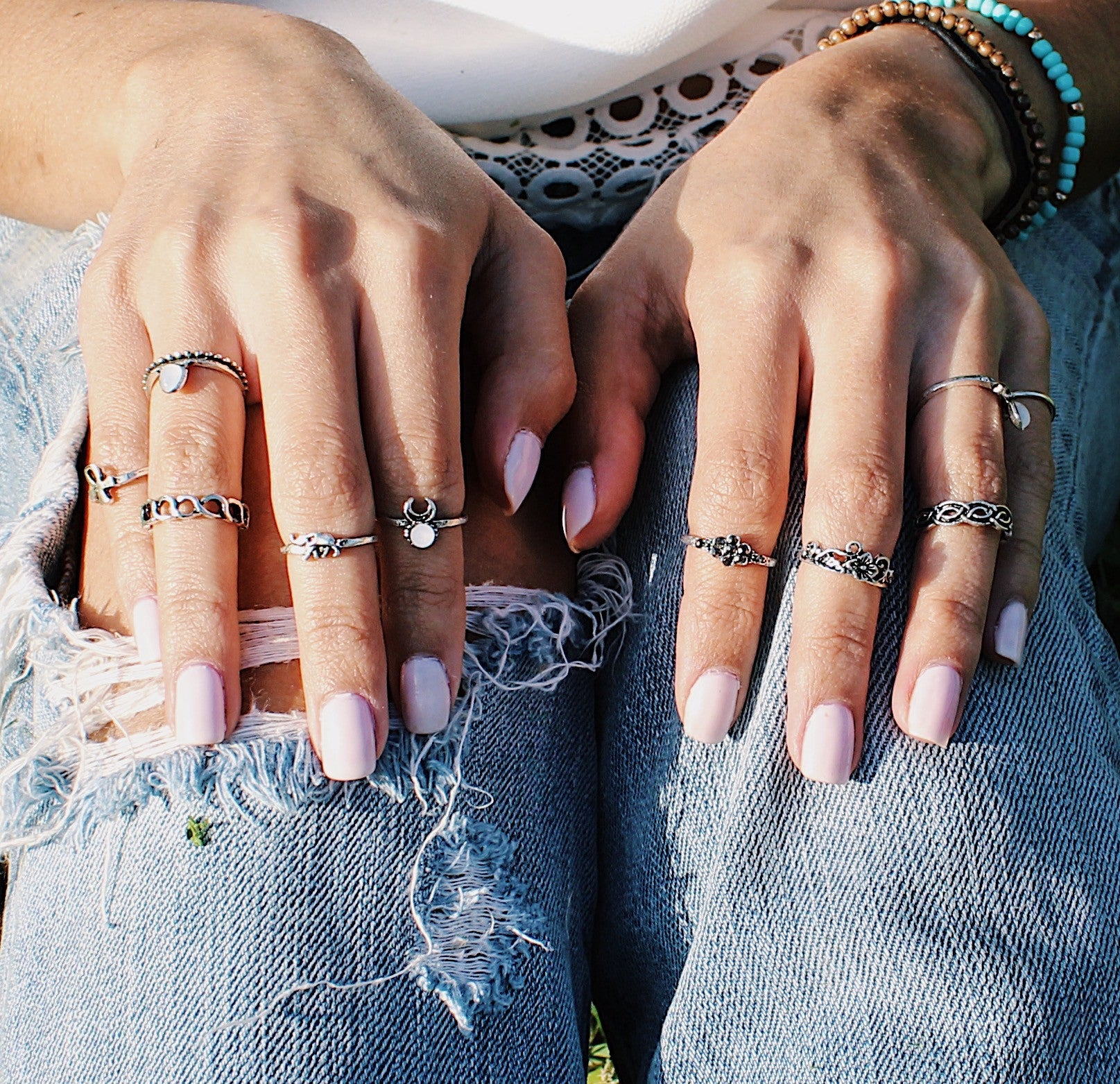 Gypsy Ten Piece Ring Set