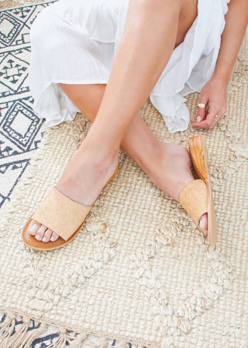 Big Sur Tan Sandals