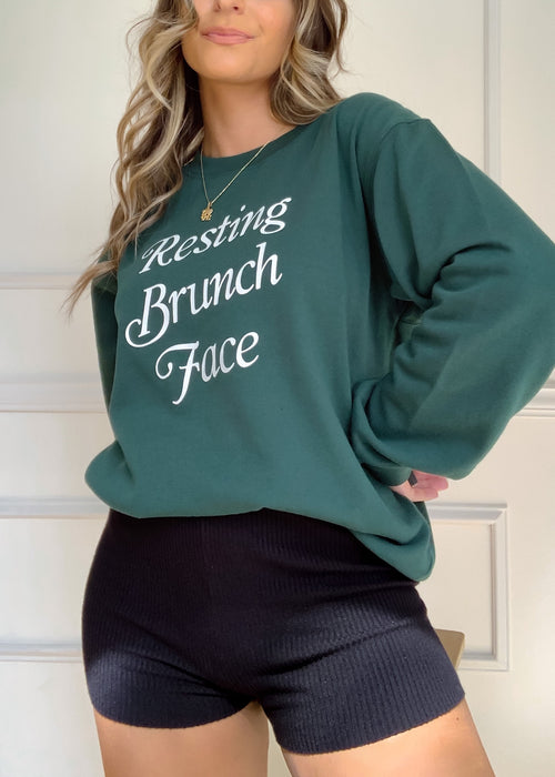 Resting Brunch Face Sweatshirt