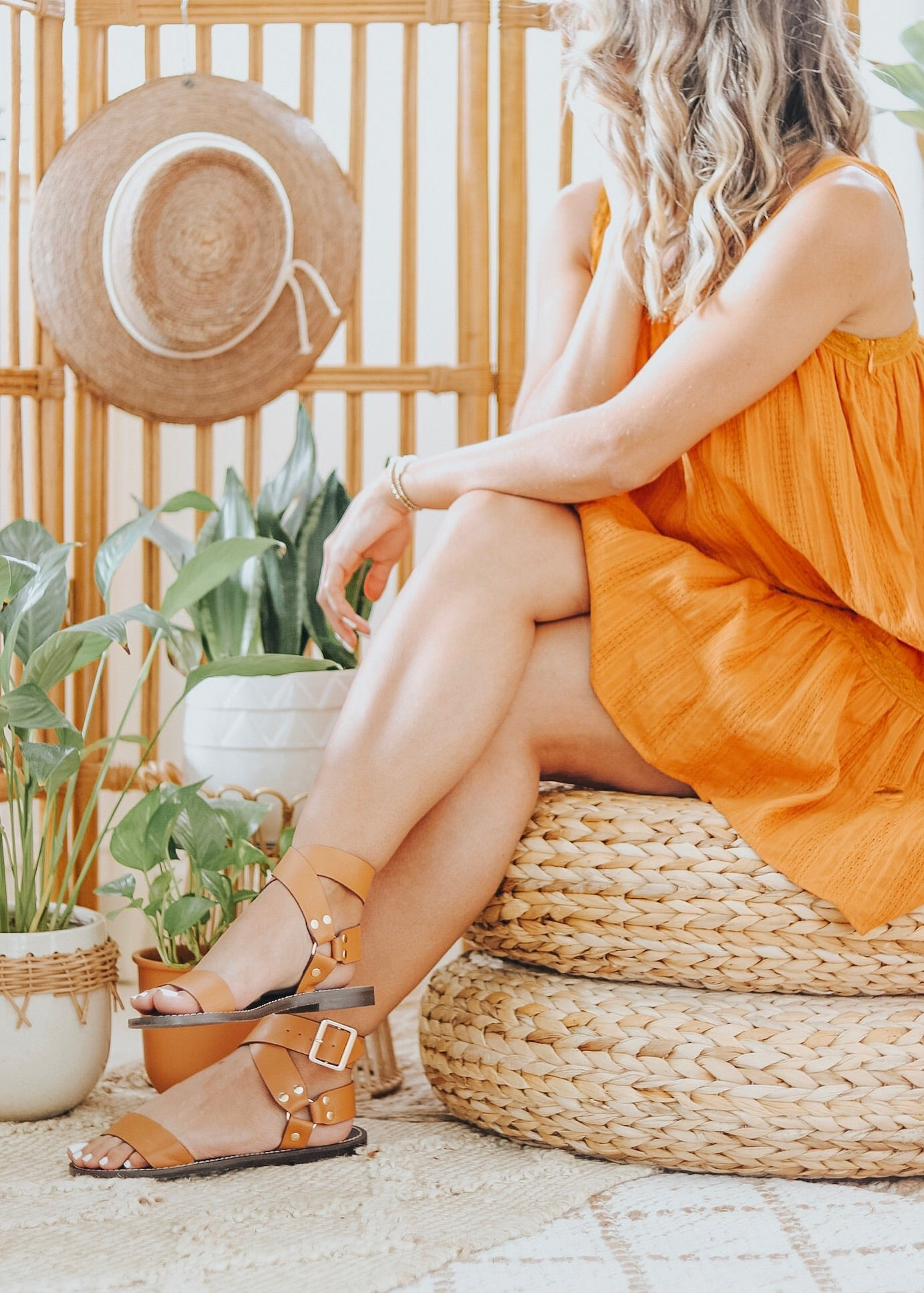 Cedar City Ankle Wrap Sandals