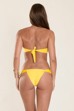 "Top Bandeau Twist ""Yellow"""