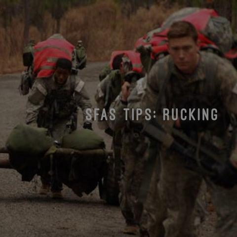 SFAS Tips: Rucking