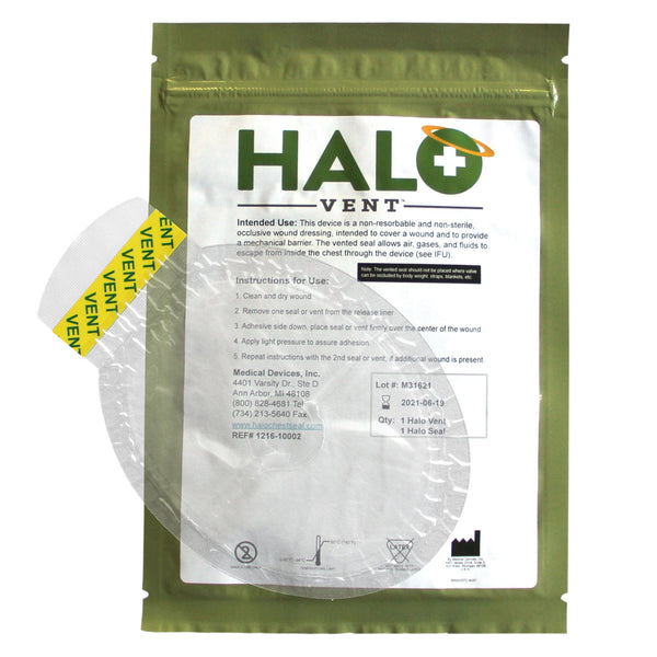 HALO Chest Seal-Vented