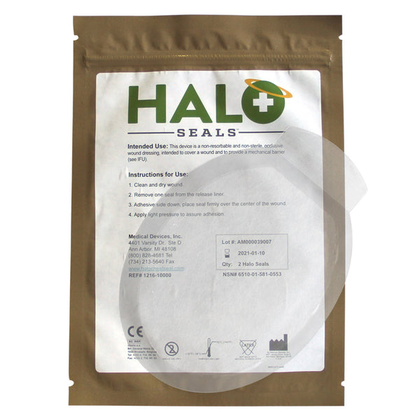 HALO Chest Seal, non-vented