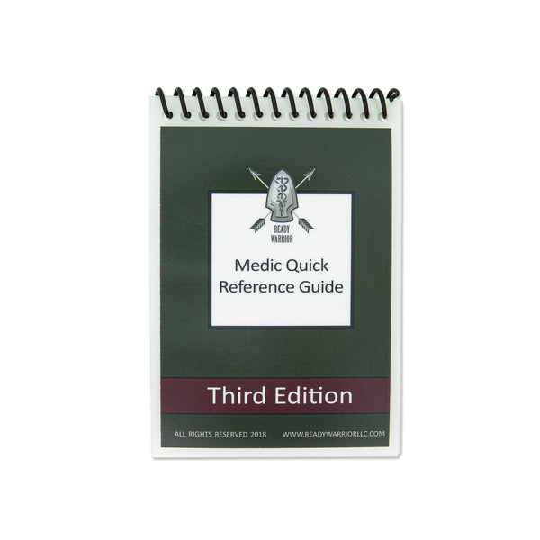 3rd Edition Medic Quick Reference Guide (TM) - Pocket Sized (C) 2020